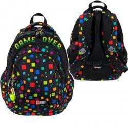 Plecak szkolny młodzieżowy ST.RIGHT GAME OVER BP2 (27095)