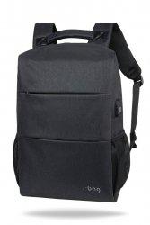 Plecak męski na laptop 13-15,6 i tablet Range Black Czarny R-Bag (Z161)