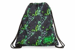 WOREK CoolPack SOLO w zielone wzory, ELECTRIC GREEN (B72099)