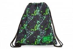 WOREK CoolPack SOLO w zielone wzory, ELECTRIC GREEN (B72099)