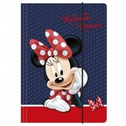 Teczka A4 z gumką Myszka Minnie, Disney (TGA4MM06)