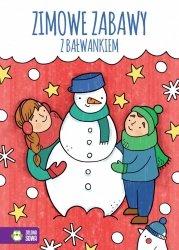 Kolorowanka Zimowe zabawy z bałwankiem ZIELONA SOWA (39840)
