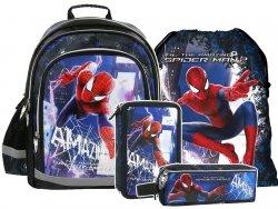 Zestaw szkolny 4cz. Plecak SPIDERMAN (PL15AS19SET2)