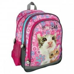 Plecak szkolny The Cat z kotem KOT KOTEK  (PL15TK13)