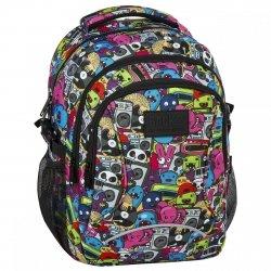 Plecak szkolny młodzieżowy Back UP komiks, COMICS (PLB2F74)