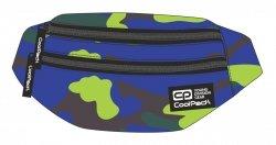 SASZETKA NERKA CoolPack na pas torba MADISON niebiesko zielone moro, CAMOUFLAGE LIME (92746CP)