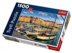 TREFL Puzzle 1500 el. Stary port w Saint Tropez (26130)