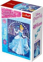 TREFL Puzzle miniMaxi 20 el. Księżniczki Kopciuszek (21017)