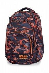 Plecak CoolPack VANCE w pomarańczowe wzory, ORANGO (B37098)