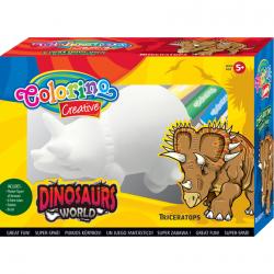 Zestaw do malowania Triceratops COLORINO (91374)