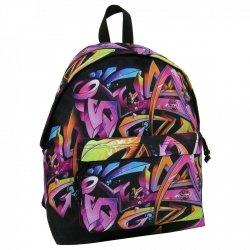 Plecak szkolny młodzieżowy FULL PRINT GRAFFITI (PLM16J13)