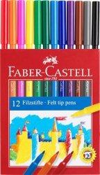Pisaki FABER CASTELL ZAMEK zmywalne 12 kolorów (FC554212)