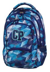 Plecak szkolny młodzieżowy CoolPack COLLEGE 2 niebieski, FROZEN BLUE 637 (77224)