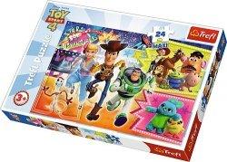 TREFL Puzzle MAXI 24 el. W pogoni za przygodą, Toy Story (14295)