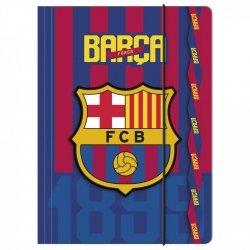 Teczka rysunkowa A4 z gumką FC BARCELONA (TGA4BC02)