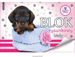 Blok rysunkowy A4 THE SWEET PETS Piesek (608539)