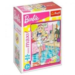 TREFL Puzzle miniMaxi 20 el. Barbie, Artystka (21063)