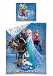 Komplet pościeli pościel Frozen KRAINA LODU 160 x 200 cm (FRO06DC)