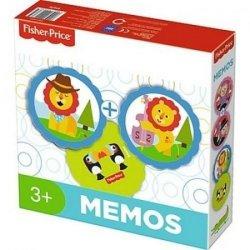 TREFL Gra pamięciowa MEMOS, Fisher Price (01676)