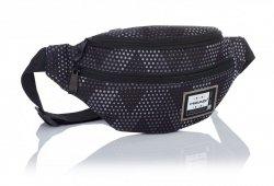 SASZETKA NERKA HEAD na pas torba w szare trójkąty, GREY TRIANGLES HD-236 (506019017)