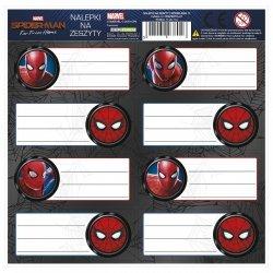 Nalepki na zeszyty Amazing Spiderman, licencja Marvel (NNZSM)