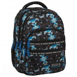 Plecak szkolny młodzieżowy BackUP 28 L MOZAIKA (PLB3M53)