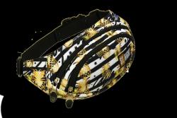 Saszetka na pas torba nerka w złote tropiki, TROPICAL PARTY WB2 (21680)