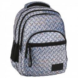 ZESTAW 3 el. Plecak szkolny młodzieżowy BackUP BLACHA (PLB2M42SET3CZ)