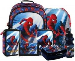 ZESTAW 7 el. Plecak szkolny SPIDER-MAN HOMECOMING (PL15BSH10)