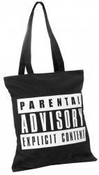 Torba na ramię Szoperka Parental Advisory Explicit Content (PAA203)