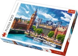 TREFL Puzzle 500 el. Słoneczny Londyn (37329)