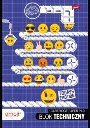 Blok techniczy A4 Emoji EMOTIKONY (42526)