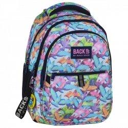 Plecak szkolny młodzieżowy BackUP PASTELOWE PTAKI (PLB2N51)