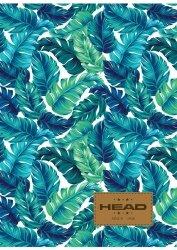 Zeszyt A4 60 kartek w kratkę HEAD w liście BOTANIQUE HD-369 (102019034)