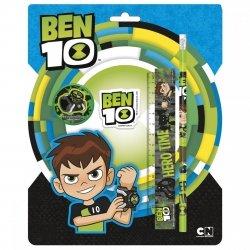 Zestaw 4 przyborów szkolnych BEN 10 (ZPS4BN0)