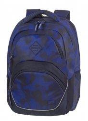 Plecak szkolny młodzieżowy COOLPACK VIPER granatowe moro, CAMO BLUE (81099CP)