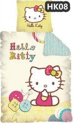 Komplet pościeli pościel Hello Kitty 160 x 200 cm (HK08DC)