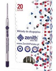 Wkład do długopisu, niebieski ZENITH (63224)