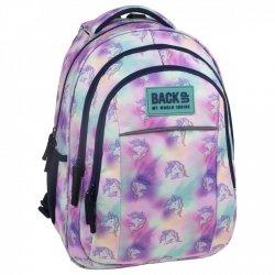 Plecak szkolny młodzieżowy BackUP JEDNOROŻEC (PLB2H15)