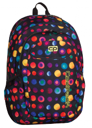 Plecak szkolny młodzieżowy COOLPACK URBAN 2 w kolorowe kropki, CONFETTI 897 (69144)