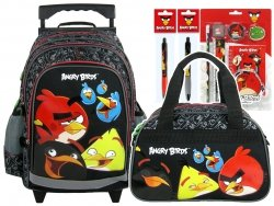 Zestaw Plecak szkolny na kółkach + torba sportowa + GRATIS ANGRY BIRDS (PL15KAB10SET)