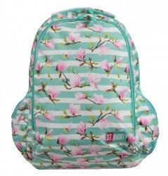 036df7d5d4fdc Plecak szkolny młodzieżowy ST.RIGHT kwiat magnolii, MAGNOLIA BP47 (22748)