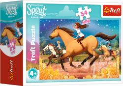TREFL Puzzle mini 54 el. Spirit Riding Free, Czas na nową przygodę (19632)