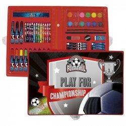 Zestaw artystyczny 71 elementów FOOTBALL Piłka nożna (ZA71PI13)