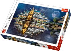 TREFL Puzzle 1500 el. Świątynia w Tajlandii WAT PA PHU KON (26141)