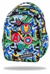 Plecak wczesnoszkolny CoolPack JOY S z naszywakmi, AVENGERS (B48308)