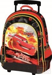 Plecak szkolny na kółkach Cars Auta, licencja Disney (PL15KCA32)