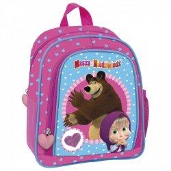 Plecak przedszkolny wycieczkowy Masza i Niedźwiedź (PL10MN13)