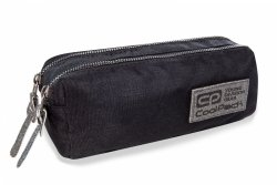 Piórnik CoolPack EGDE czarny z srebrnymi dodatkami SILVER GLITTER (22349)