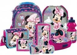 Plecak szkolny Myszka Minnie (PL15BMM21SET8CZ) ZESTAW 8 el.